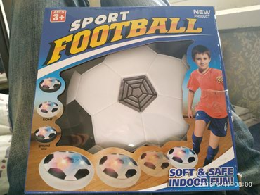 Футбольный мяч Sport Football, летающий мяч с мягкими краями для