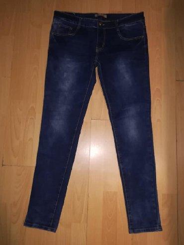Ženska odeća | Plandište: Zenske tamno plave farmerke sa elastinom,jako kvalitetnog