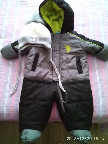 Зимний комбинезон на 3-6 месяцев, Polo, 800 в Бишкек