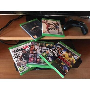 5 games as seen on the photo 60 eu for all