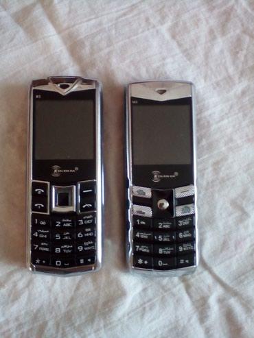 """Bakı şəhərində 2 eded kitay telefonlari. """"Ken xin da"""" M3 ve M5. ZAPCAST kimi satilir."""