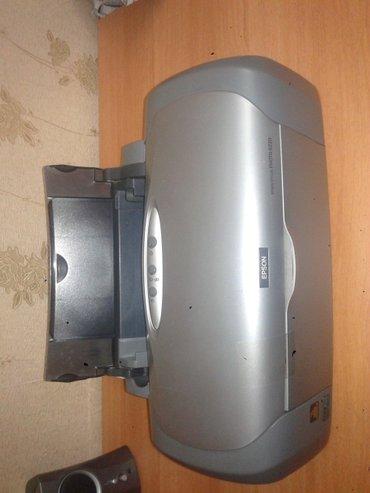 Bakı şəhərində Epson stylus photo r220 a4 rəngli printeri satılır. Normal
