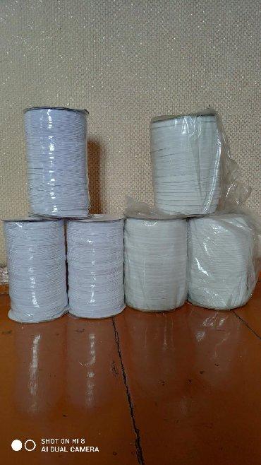 Резинки для медицинских масок - Кыргызстан: Продаю резинки для медицинских масок Толщина 1 см