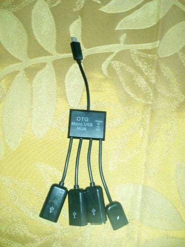 Gəncə şəhərində Gencede Telfon ucun perexadnik 4 eded 3 USB mhfta 1 eded micro USB