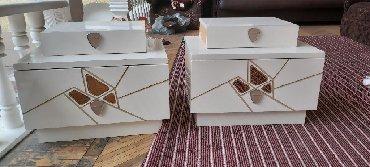 Мебель - Душанбе: Продаю спальный гарнитур в отличном состоянии почти новая