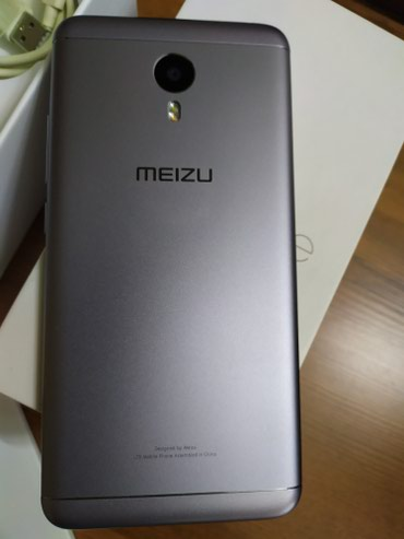 Meizu в Кыргызстан: Телефон, смартфон Meizu M3 Note 2+16Gb, цвет серый, состояние