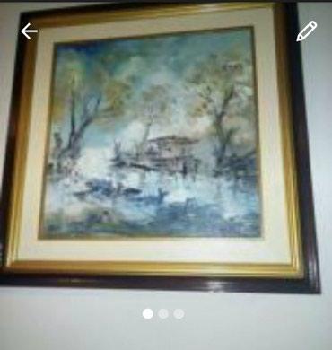 Slika hrvatskog slikara Arona - Cacak