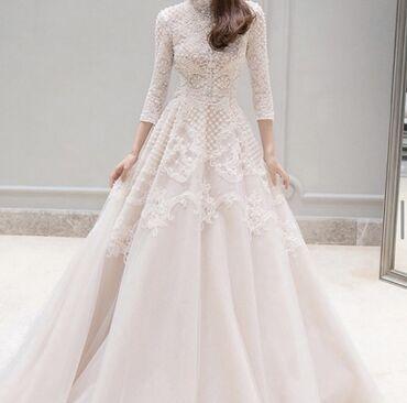 Новое свадебное платье . На рост не выше 160 . Размер 42