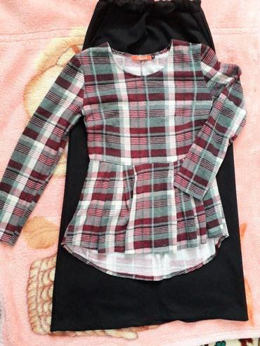 женские осенние туфли в Кыргызстан: Продаю двойку .юбка длинная .размер 42.осень-зима