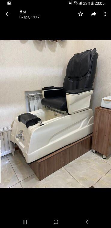 массажное кресло бишкек цена в Кыргызстан: Обращаться по телефону Продаётся педикюрное кресло,в отличном