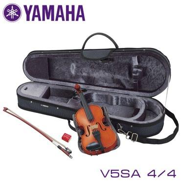 Скрипка Yamaha V5SA 4/4Скрипка YAMAHA V5SA 4/4 идеальна для начинающих