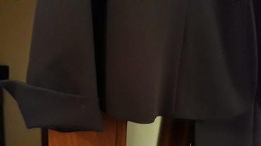 Женский костюм брючный синего цвета. Производство - Турция. Размер -42 в Бишкек