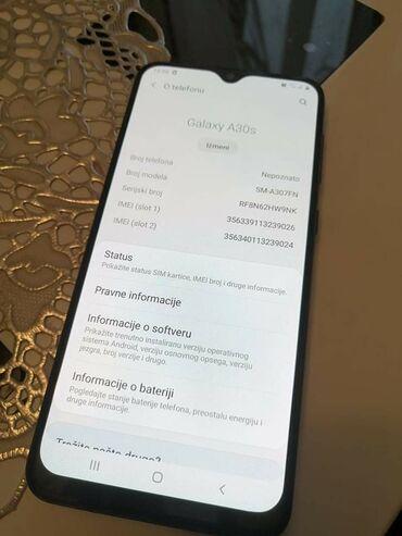 Samsung x500 - Srbija: Novo Samsung A30s 64 GB crno