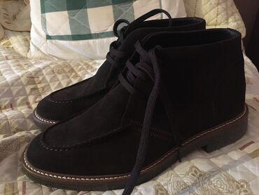 Привозные ботинки из Италии,большемерки. Новые