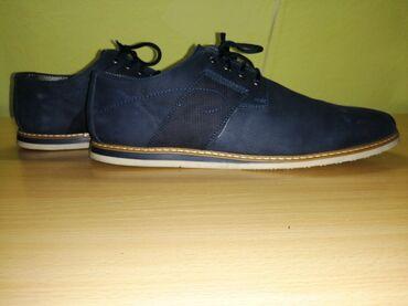 Muske cipele - Srbija: Muške cipele Obuvene su samo 3 puta. Kožne muške cipele, prelepog izgl