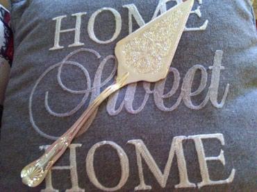 Lopatica za tortu I kolace,posrebrena a mozda I srebrna skroz,prelep - Sombor