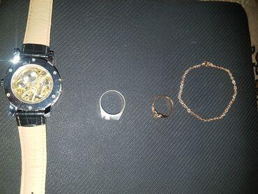 Продаю золото (кольцо и браслетик на руку).Кольцо 3000 сом.Браслет