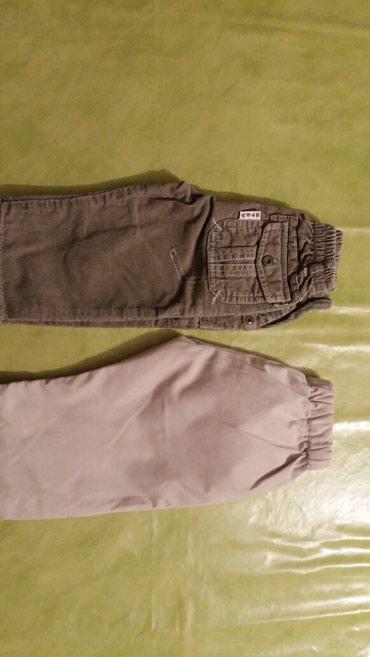 Pantalone za decake od godinu dana,polovne i ocuvane.Oba para za - Petrovac na Mlavi