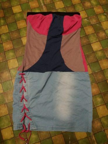 Платье без лямок 46 размер 400сом в Бишкек
