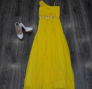 Женская одежда в Шопоков: Размер s-m в отличном состоянии,персиковое платье 48р. Цена 800сом