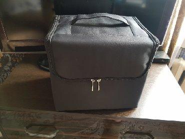 сумка черного цвета в Кыргызстан: Продаётся кейс/сумка для визажистов или тех кто занимается