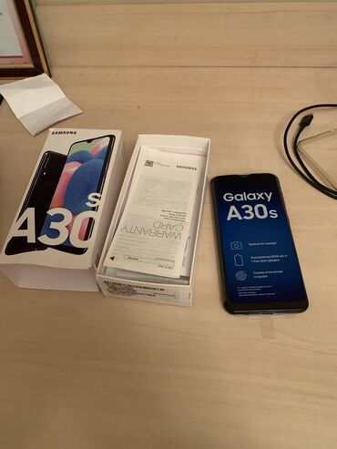 Б/у Samsung A30s 32 ГБ Черный