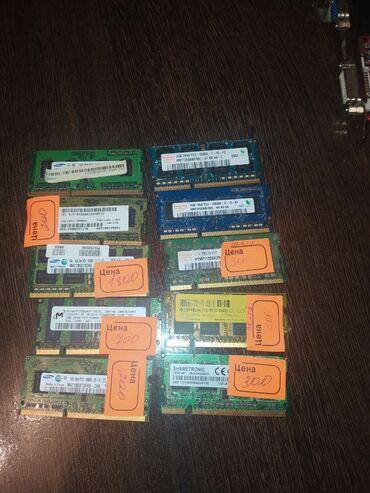 Оперативные памяти для ноутбуков