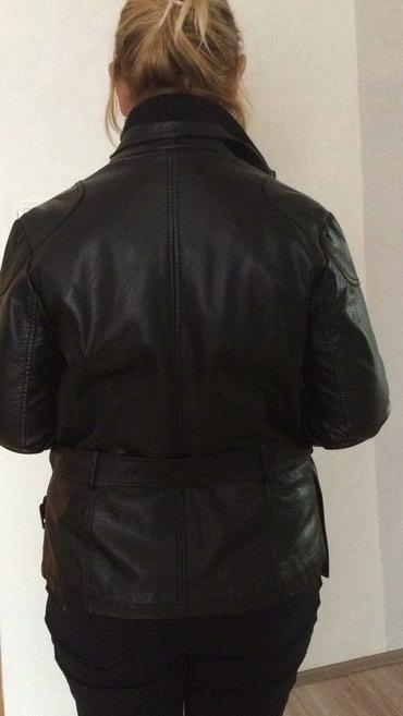 Kozna jakna par puta obucena ali na zalost mala mi je p - Nova Pazova