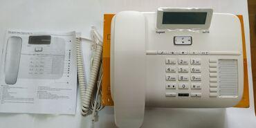 Telefon Gigaset DA 710 telefonlari nomre yazandir rengide agdir argina