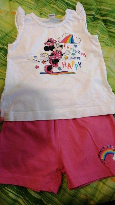 Ostala dečija odeća | Crvenka: Waikiki letnja pidžamica za devojčicu br 86/92,prelepa,odlicno stanje