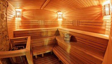 Bakı şəhərində Sauna. Sauna tikintisi. Rus hamamı.