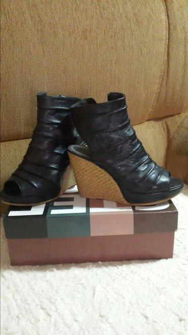 Zenske polu sandale sa platformom, preudobne, nošene par puta, bez ošt - Velika Plana