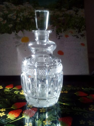 чешская хрусталь в Кыргызстан: Графин хрусталь,емк. 1 литр