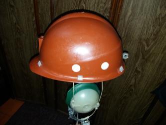 щиток защитный лицевой визион в Кыргызстан: Продаю каски новые (СССР) : шахтерские с наушником, строительные