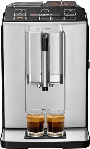 кофемашина автоматический капучинатор в Кыргызстан: Кофемашина BOSCH TIS30321RW-- Кофемашина, 1300 Вт, корпус пластик