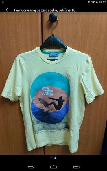 Muška odeća | Obrenovac: Pamučna majica za decaka veličina 10
