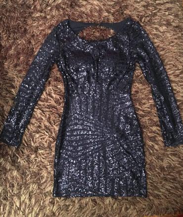 Haljine | Kursumlija: Haljina novo! Teget haljina sa tvorenim ledjima. Velicina S