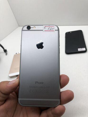 apple iphone a в Кыргызстан: Б/У iPhone 6 32 ГБ Черный