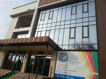 Сдается новое здание 3 этаж+ цоколь. Каждый этаж по 350м кв. Общий пло в Бишкек