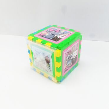 9 мик в Кыргызстан: Куб сортер с картинками.Увлекательная игрушка - куб собирается со всех