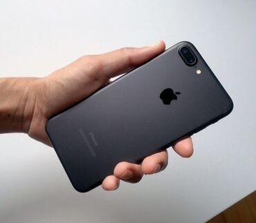айфон 7 цена in Кыргызстан   APPLE IPHONE: IPhone 7 Plus   128 ГБ   Черный Б/У   Гарантия, Кредит, Отпечаток пальца
