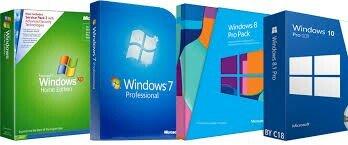 Установка/переустановка Windows (XP, 7, 8, 8.1, 10). Установка/обновле в Бишкек