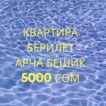 Квартира берилет арча Бешик 5000 сом  Туалет ичинде ысык суу бар