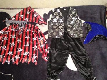 Продам клёвый костюм пирата состоит в Бишкек
