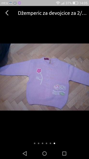 Džemper za devojcice u veličini 2-3 - Pozarevac