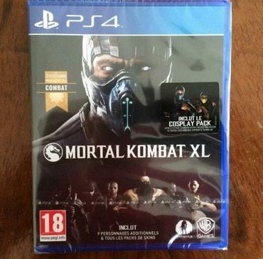 """Bakı şəhərində """"mk-xl"""" PlayStation PS4 Original Lisenziya disk."""