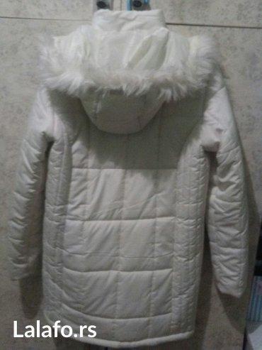 Zimska jakna, bela vel m - Kovin