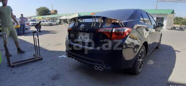 kredit toyota corolla - Azərbaycan: Toyota corolla arxa diffuser