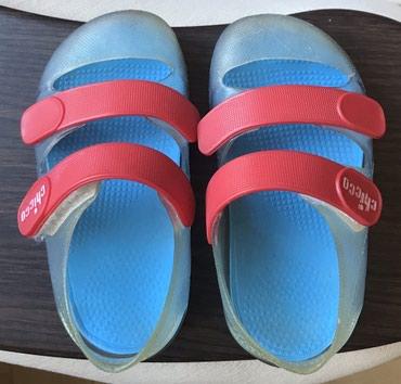 Chicco gumene sandalice. Broj 22, duzina gazista 13 cm. - Crvenka