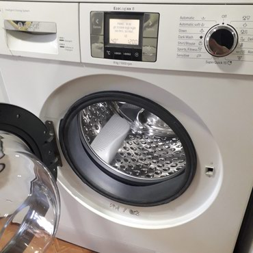 кофеварка bosch tes в Кыргызстан: Фронтальная Автоматическая Стиральная Машина Bosch 8 кг